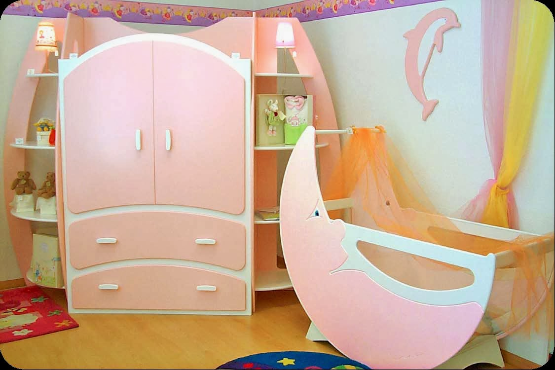 Imagenes fantasia y color como decorar el cuarto del bebe for Muebles infantiles baratos