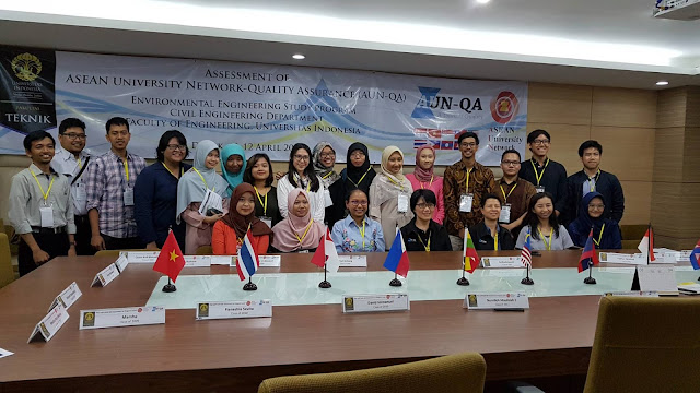 alumni, assessor, asean university network, universitas indonesia, environmental engineering