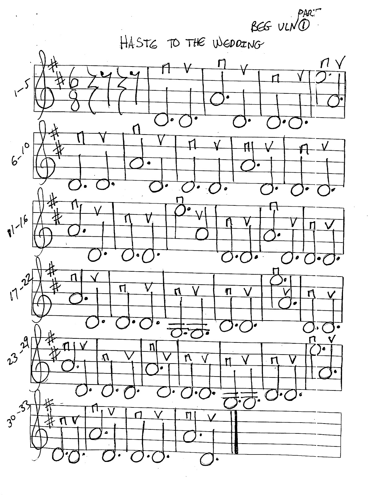 Miss Jacobson's Music: HASTE TO THE WEDDING MUSIC WORKSHEETS