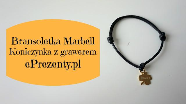 RECENZJA: Bransoletka Marbell koniczynka z grawerem | ePrezenty