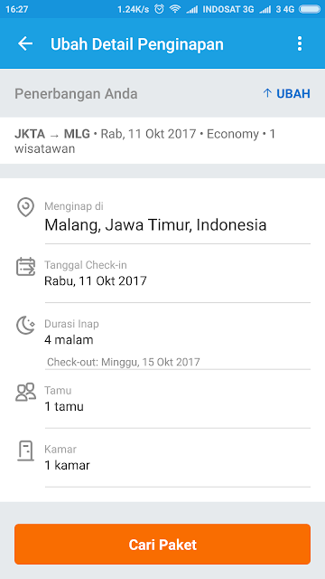 traveloka paket internet, traveloka paket liburan