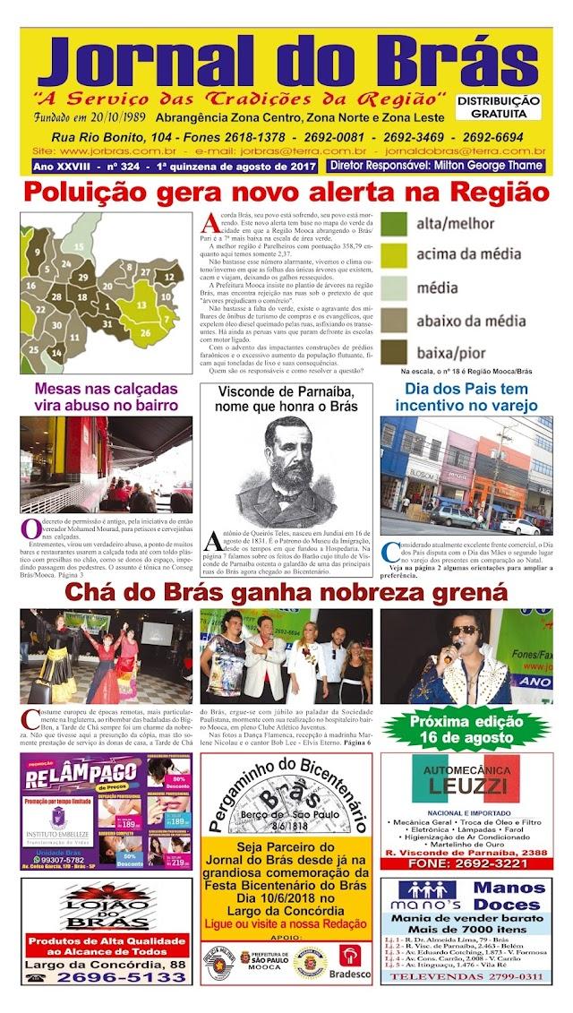 Destaques da Ed. 324 - Jornal do Brás