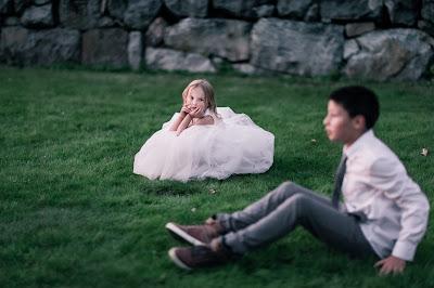 Niños de boda