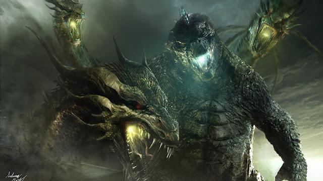 Papel de parede grátis Filme Godzilla 2 O Rei dos Monstros Godzilla vs King Ghidorah para PC, Notebook, iPhone, Android e Tablet.