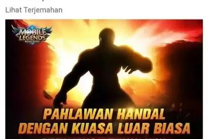 Setelah Kadita Indonesia Kini Mobile Legends Siap Merilis Hero Badang Yang Berasal Dari Malaysia