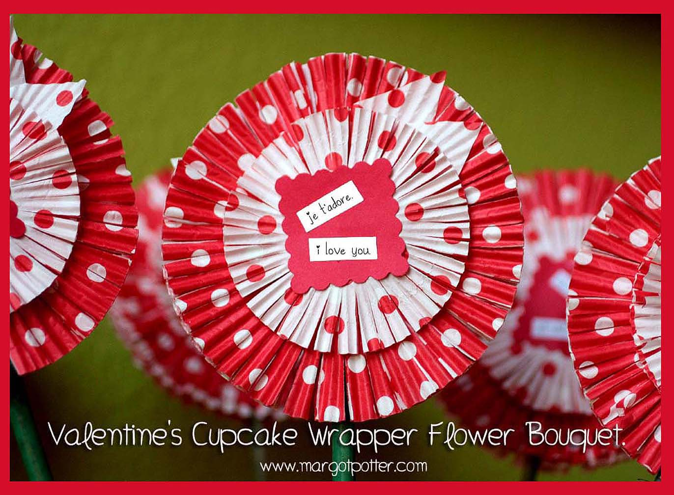 The Impatient Crafter How To Make Cupcake Wrapper Flowers Guest