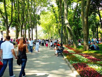 El Parque Gulhane en Estambul, lugares que visitar