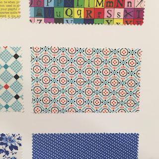 Windham fabric swatches