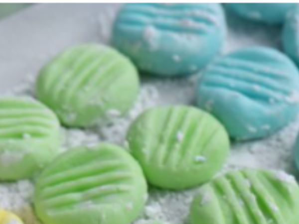 Cream Cheese Mints  #tastytuesday