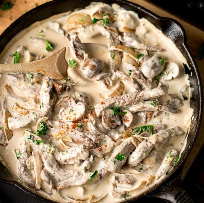 Resep masakan rusia enak dan lezat - Beefstroganof