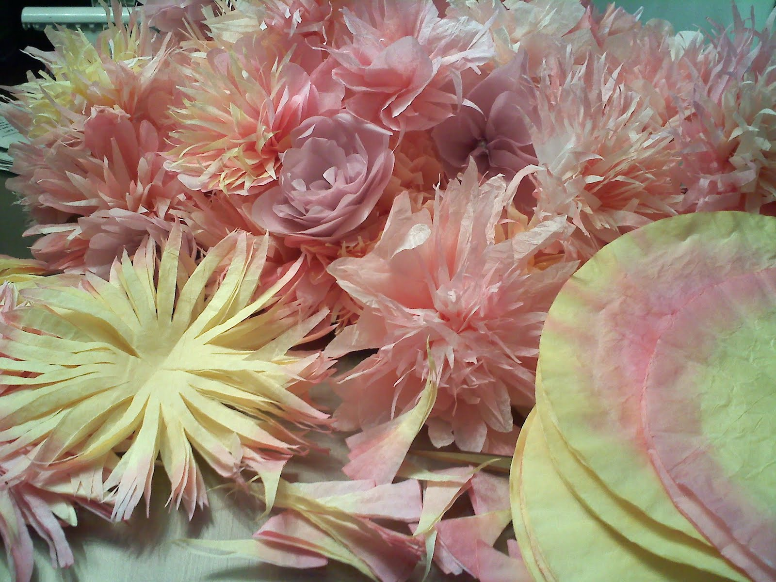 She Is My Sister: Coffee Filter Flowers And All Things