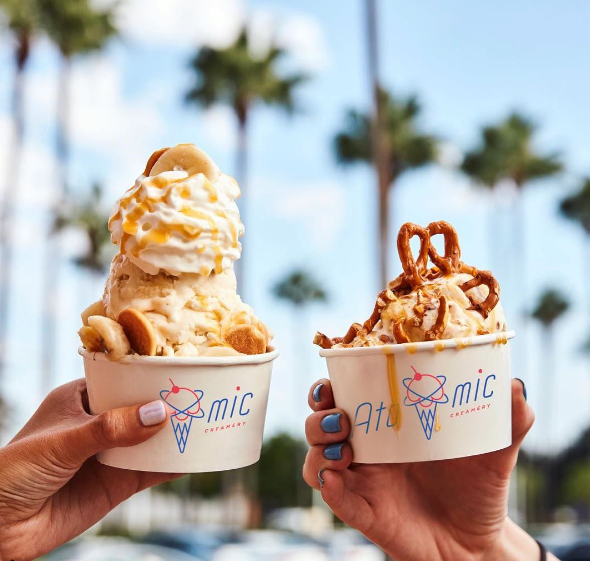 Feb. 17   Atomic Creamery at Fashion Island Give Out Free Ice Cream for Grand Opening