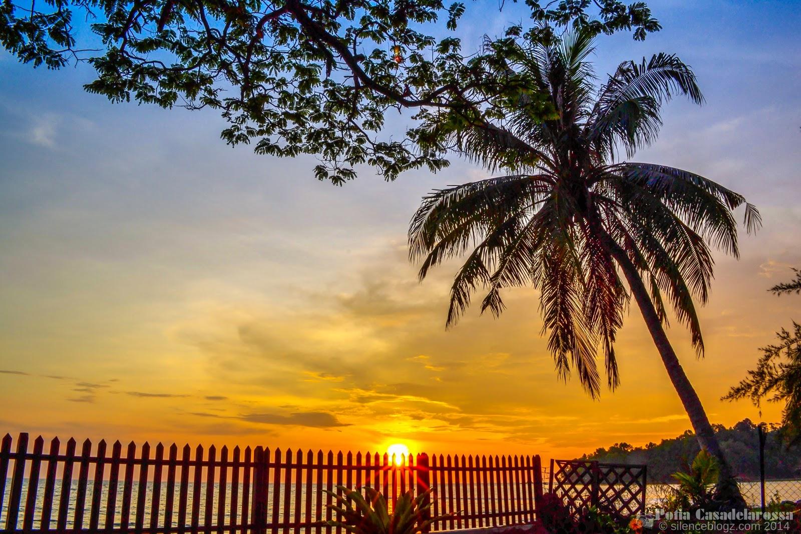 Sunset Pantai Teluk Kemang Port Dickson