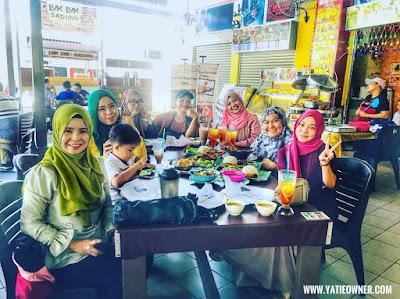 IMYATI CAFE, SADONG JAYA KOTA KINABALU SABAH | NASI IKAN BAHULU YANG SUPER SEDAP!