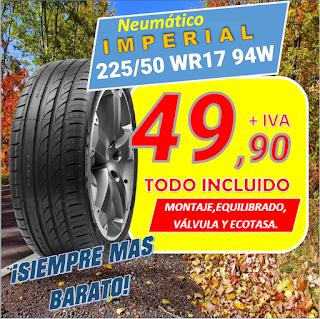 Neumáticos  IMPERIAL Eco Sport 2  225/50 WR17 94W