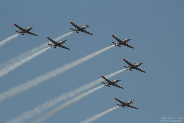 Pokazy lotnicze - PZL-130 Orlik TC II