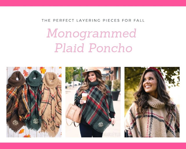 fuzzy poncho layering look