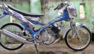 modifikasi satria fu black fire