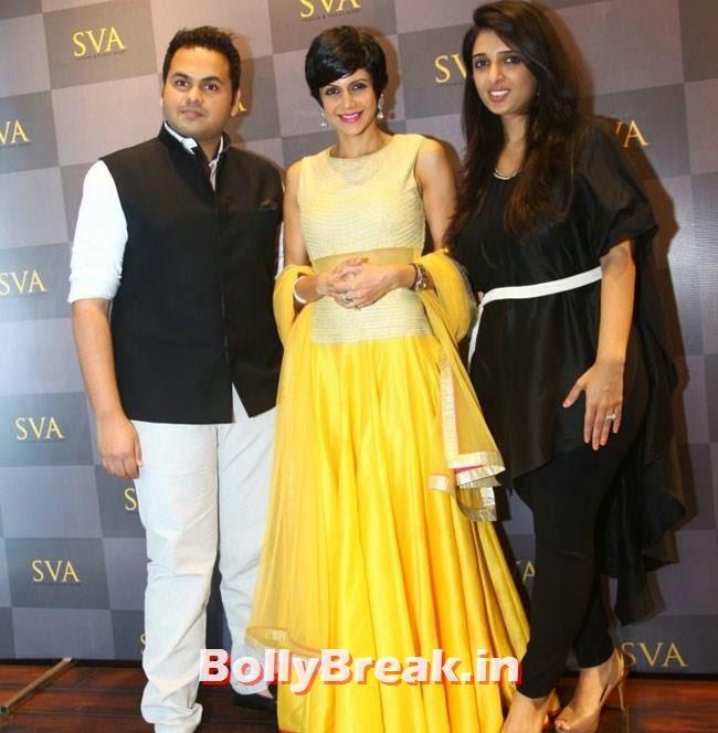 Paras Modi, Mandira Bedi and Sonam Modi, Mandira Bedi, Neha Sharma, Karishma Tanna, Satyarupa  Photos from SVA Bridal Store Opening