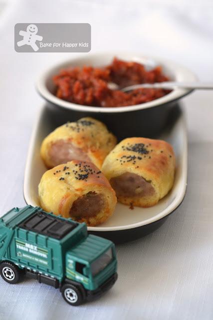 sausage vegetarian sausage rolls Delia Smith