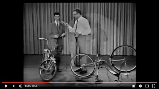 Youtube screen grab: Frank Zappa on The Steve Allen Show (March 4, 1963)