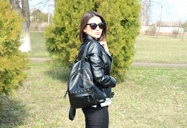 Zaful Spring Haul Black and White Outfit
