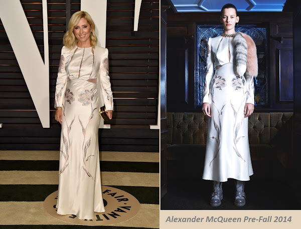 Princess Marie Chantal Alexander McQueen Dresses