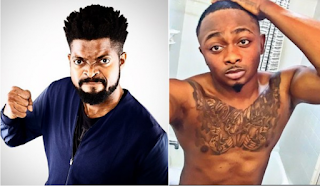 Basket mouth and Sean Tizzle finally reconciles!