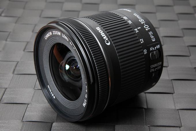 Ulasan Lensa Canon EF-S 10-18mm f/4.5-5.6 IS STM