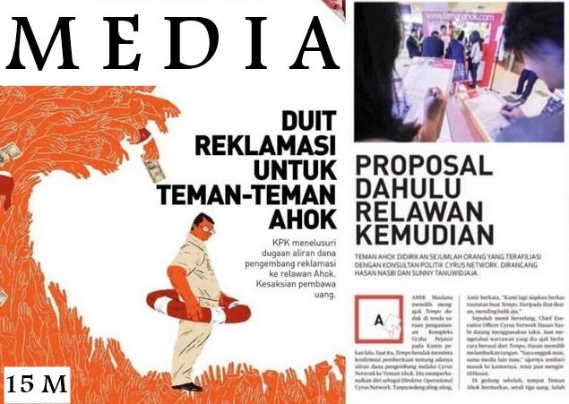 Ada Satu Media, Dulu Anti Ahok Setelah Sepakat Harga 15 M Kini Mulai Jadi 'Die-Harder'-nya Ahok Lagi