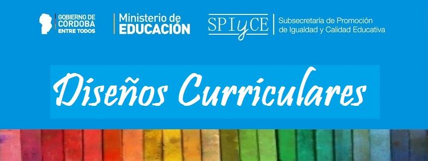 Gobierno de la provincia de cordoba dise os curriculares for Diseno curricular primaria