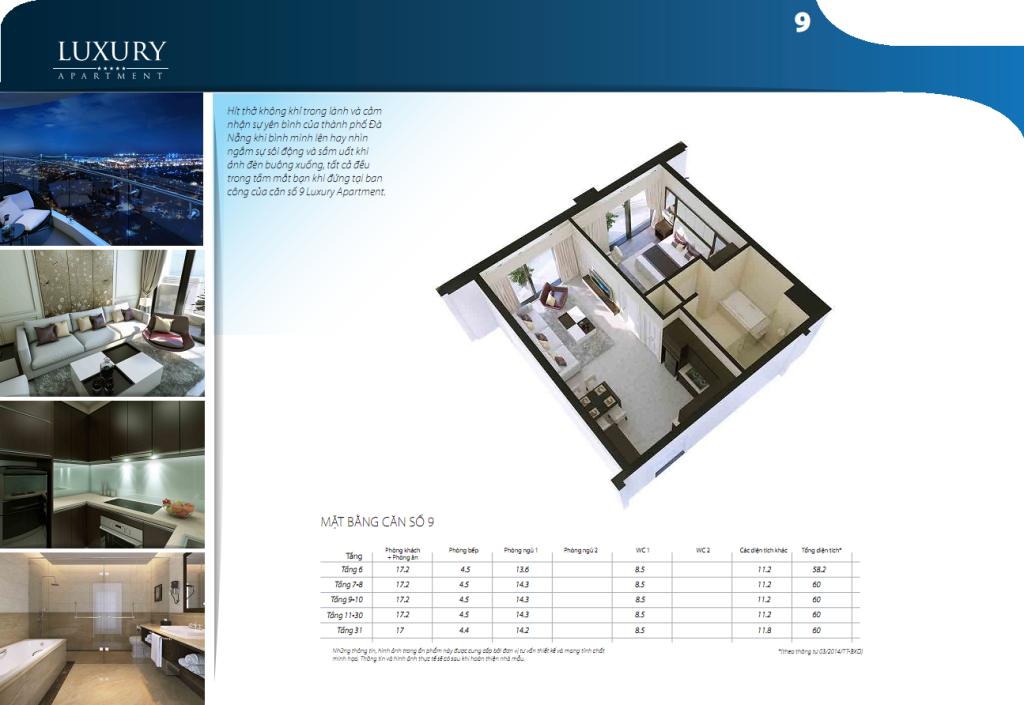 Chi tiết căn hộ 08 dự án Luxury Đà Nẵng