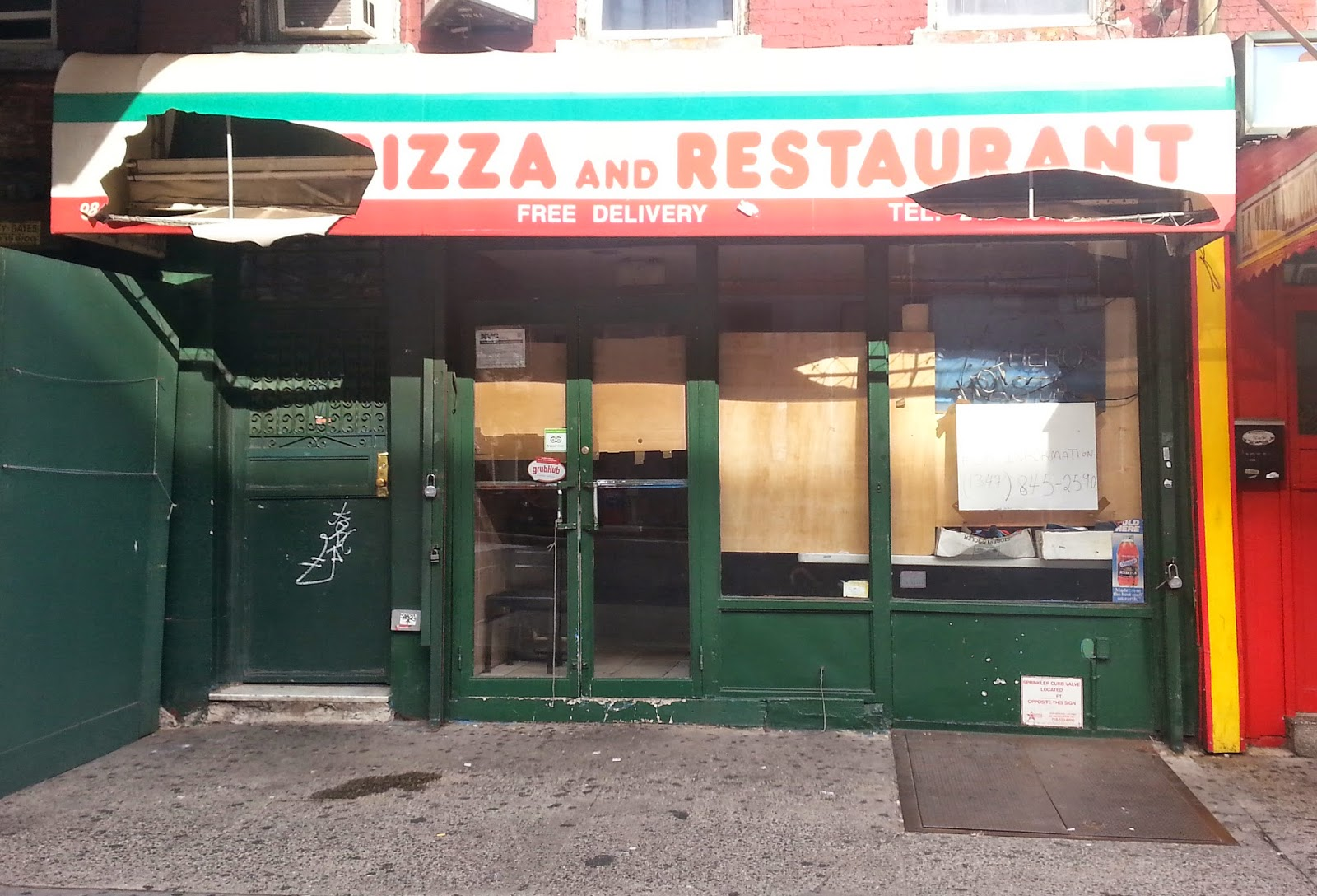 Jeremiahs Vanishing New York Mezza Luna Pizza