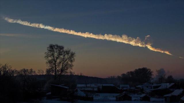 Descubren un mineral desconocido en un meteorito caído en Rusia
