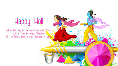 Happy Holi Messages, Wallpapers, HD Pics Download