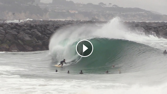 The Wedge - Most PERFECT Day of 2019 RAW FOOTAGE