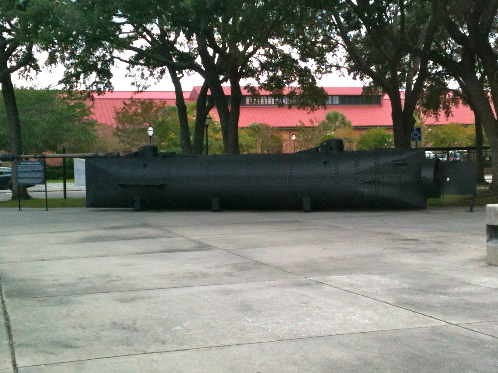 Civil War Submarine, Charleston, SC