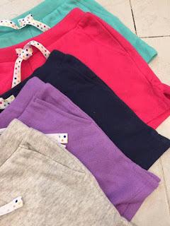 Quần short thun bé gái hiệu Landsend hàng xuất xịn made in vietnam, chất thun cotton da cá đẹp mịn, dây rút thật, size 7-16T.
