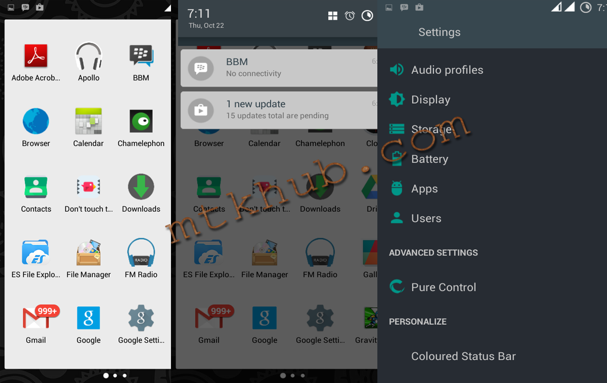 4 2 2]SWAT ROM For MT6572 Tecno f5 (Pure Lollipop UI)