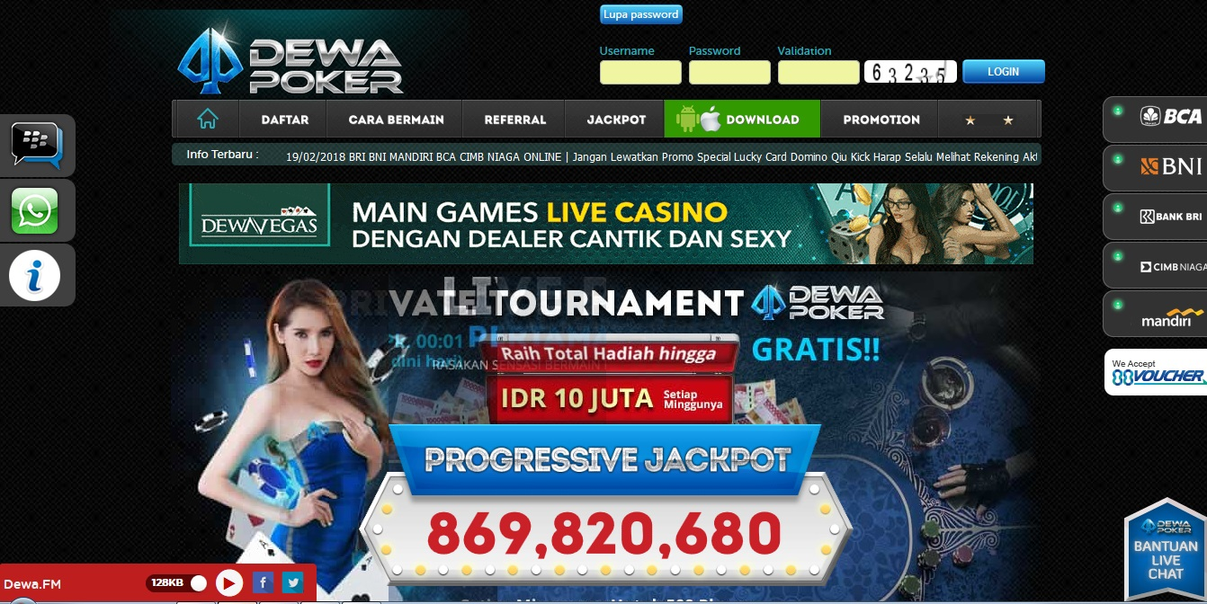 Poker server idn singapur sands casino