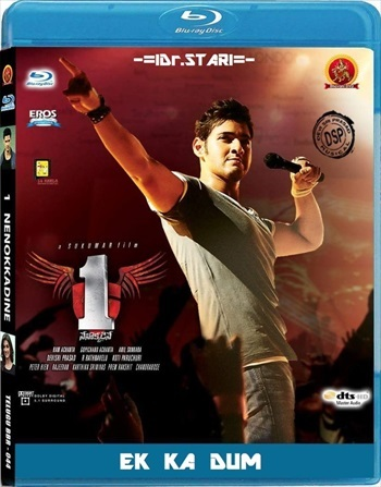 1 Nenokkadine 2014 Dual Audio Hindi Bluray Download