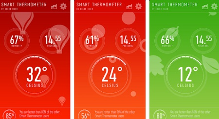 aplikasi pengukur suhu ruangan