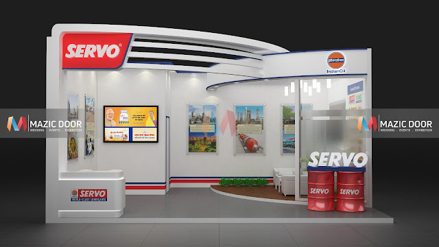 Mazicdoor Indian Oil Stall Design 01