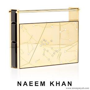 Meghan Markle carried Naeem Khan Armory Zodiac Clutch