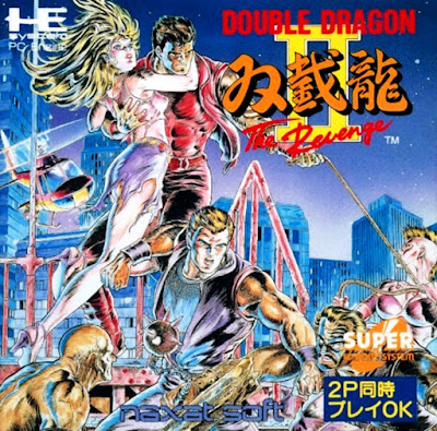 Review - Double Dragon II: The Revenge - PC Engine CD