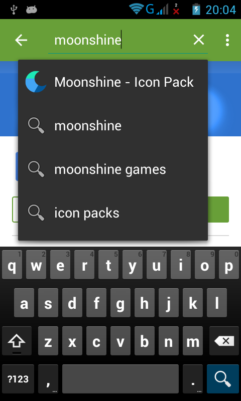 Search Moonshine Icon Pack