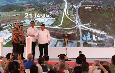 Presiden Jokowi: Tol Dibangun Untuk Percepat Proses Logistik Antar Pulau
