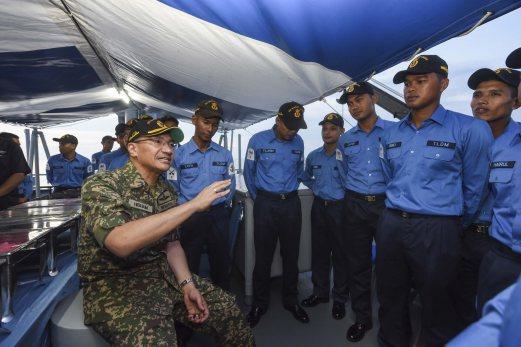 Malaysia bincang guna MSSP tangani ancaman Laut Sulu