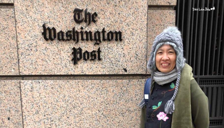 Cuộc vận động của Mẹ Nấm - Nguyễn Ngọc Như Quỳnh tại Washington D.C.