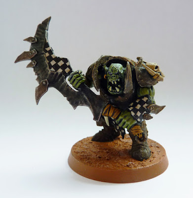 Ironjawz Brute with gore choppa